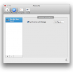 Syncing Google Contacts with iMessage (and Contacts) on OSX Mountain Lion